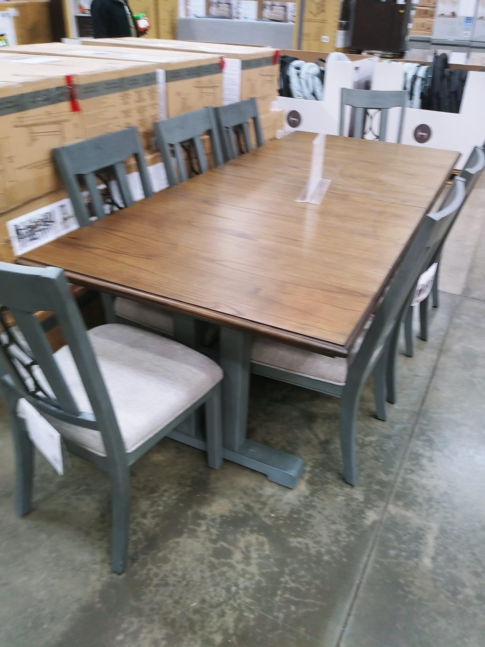 Northridge Home Vega 9pc Dining Room Table Set $799