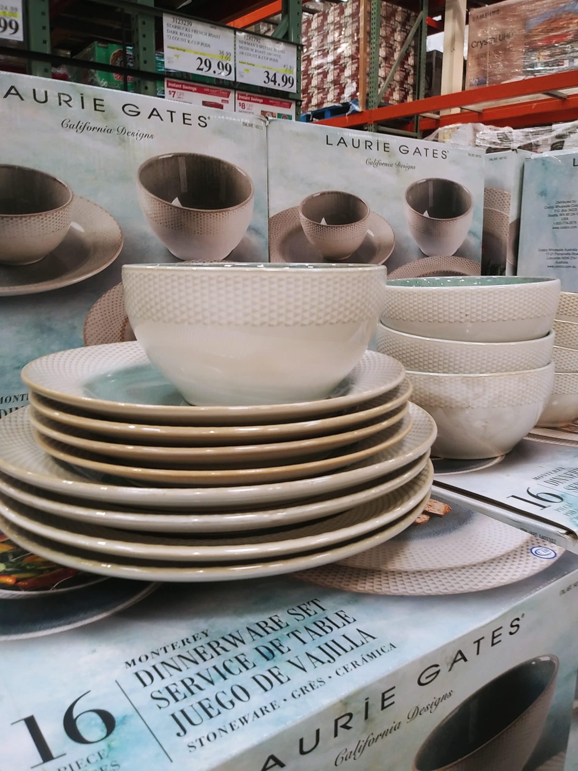 Laurie Gates Monterey 16pc Dinnerware Set $39.99