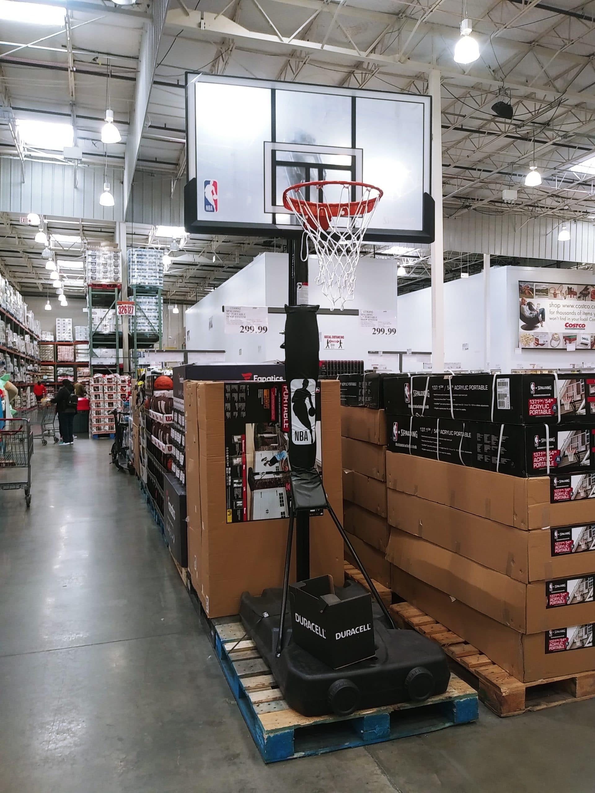 Spalding Portable Basketball Hoop $299.99