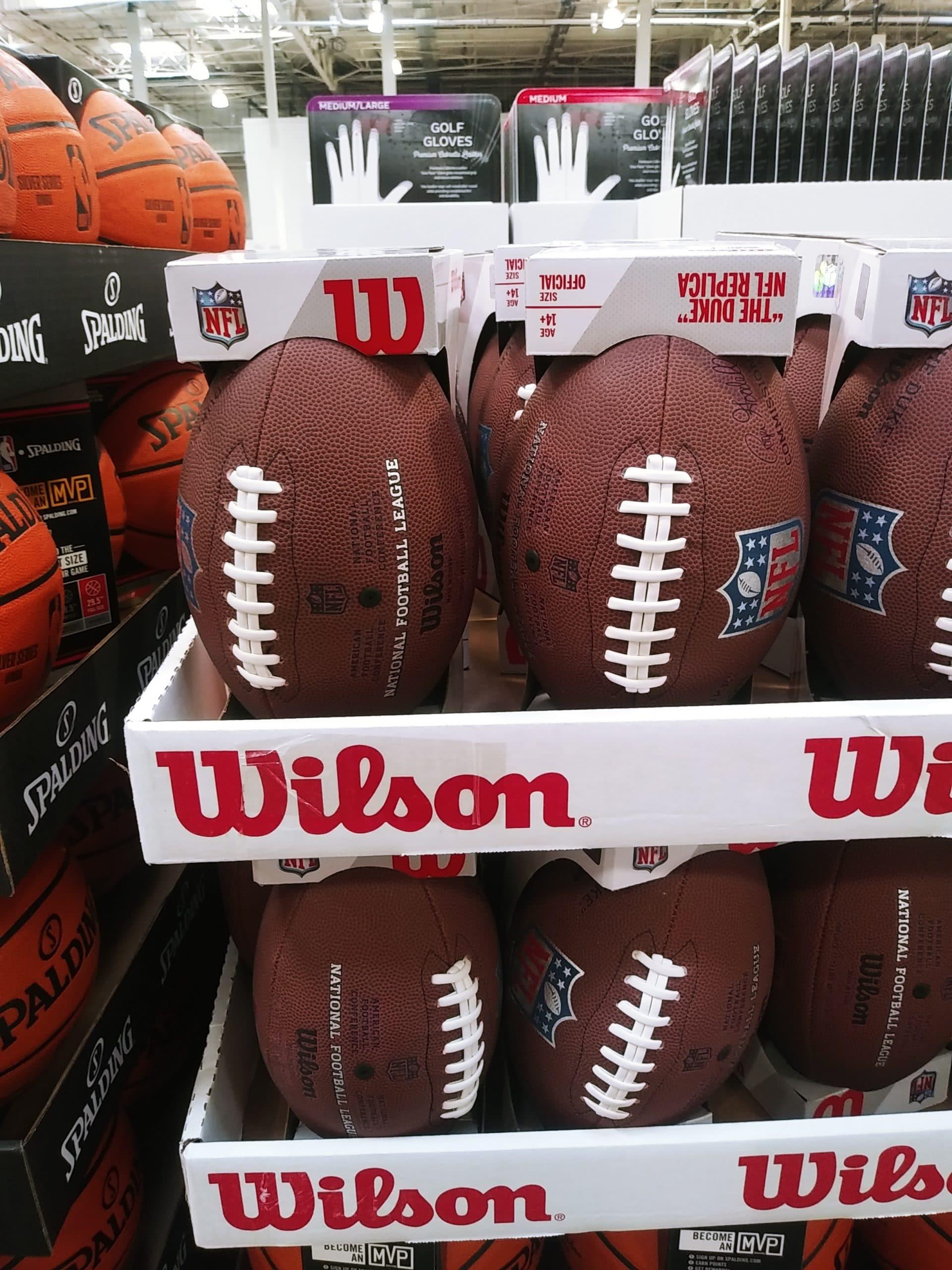 Footballs and Basketballs Under $20 at Costco