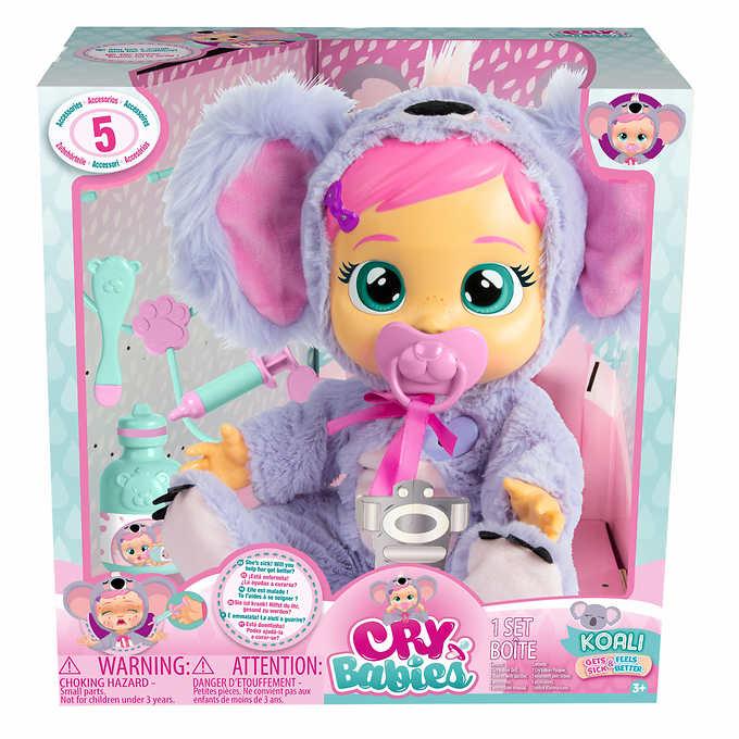 Cry Babies Koali Doll $19.99
