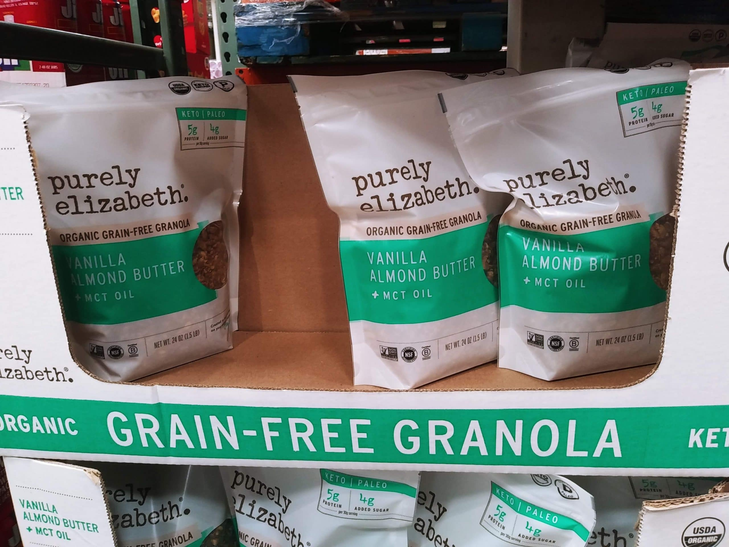 Organic Grain Free Granola 24oz $9.99