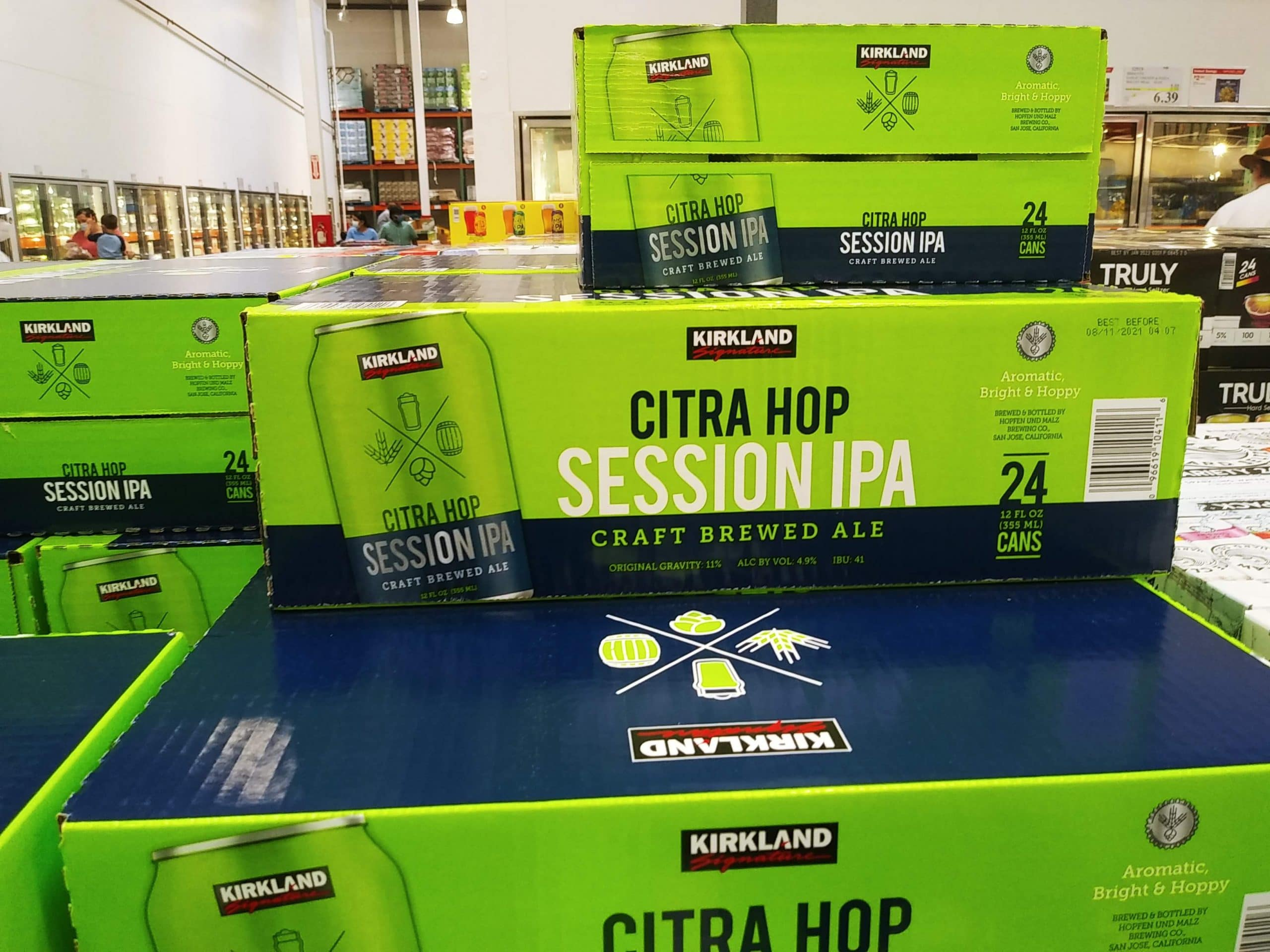 Kirkland Session IPA Citra Hop 24pk $19.99