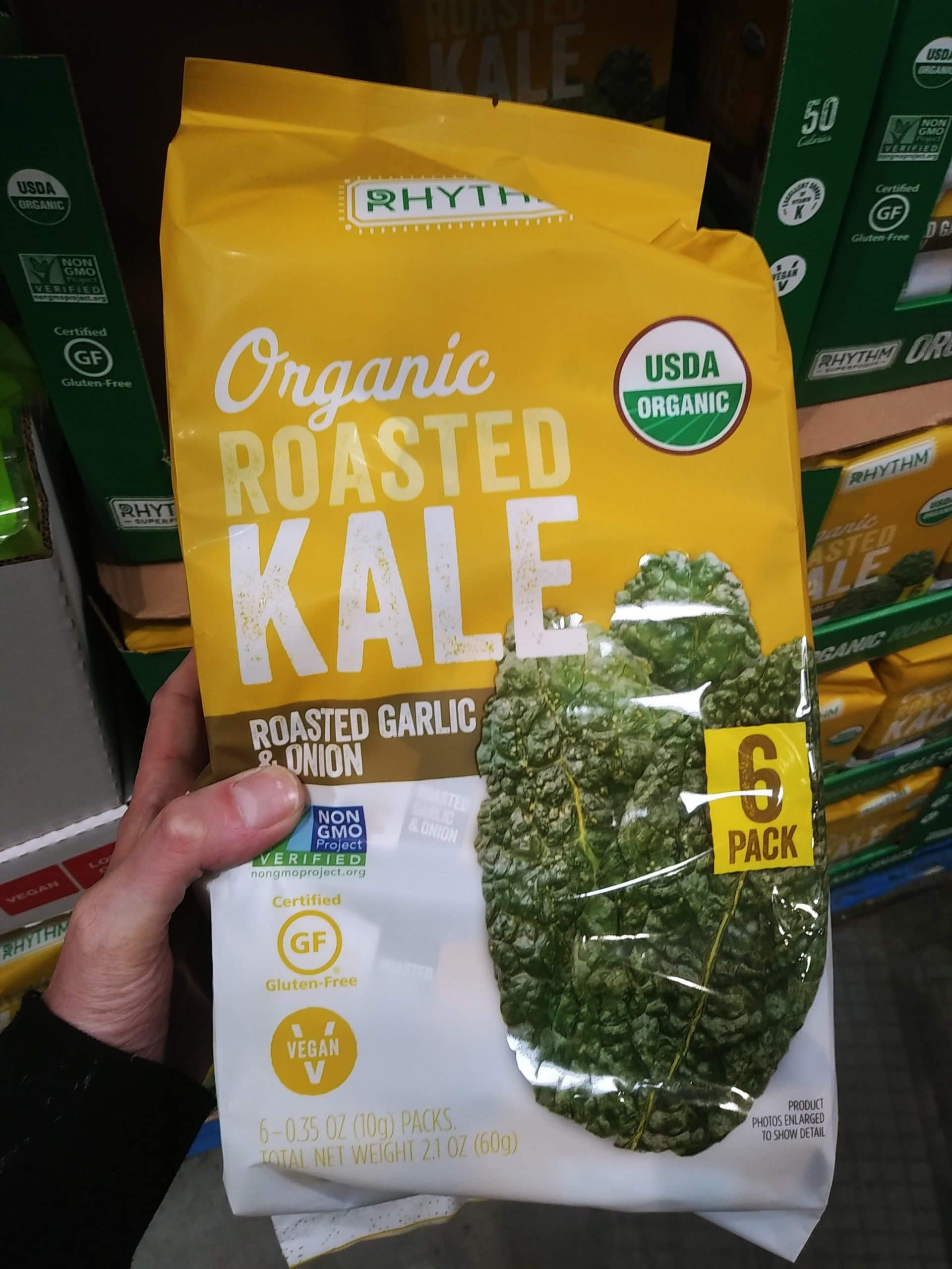Rhythm Organic Roasted Kale $8.49