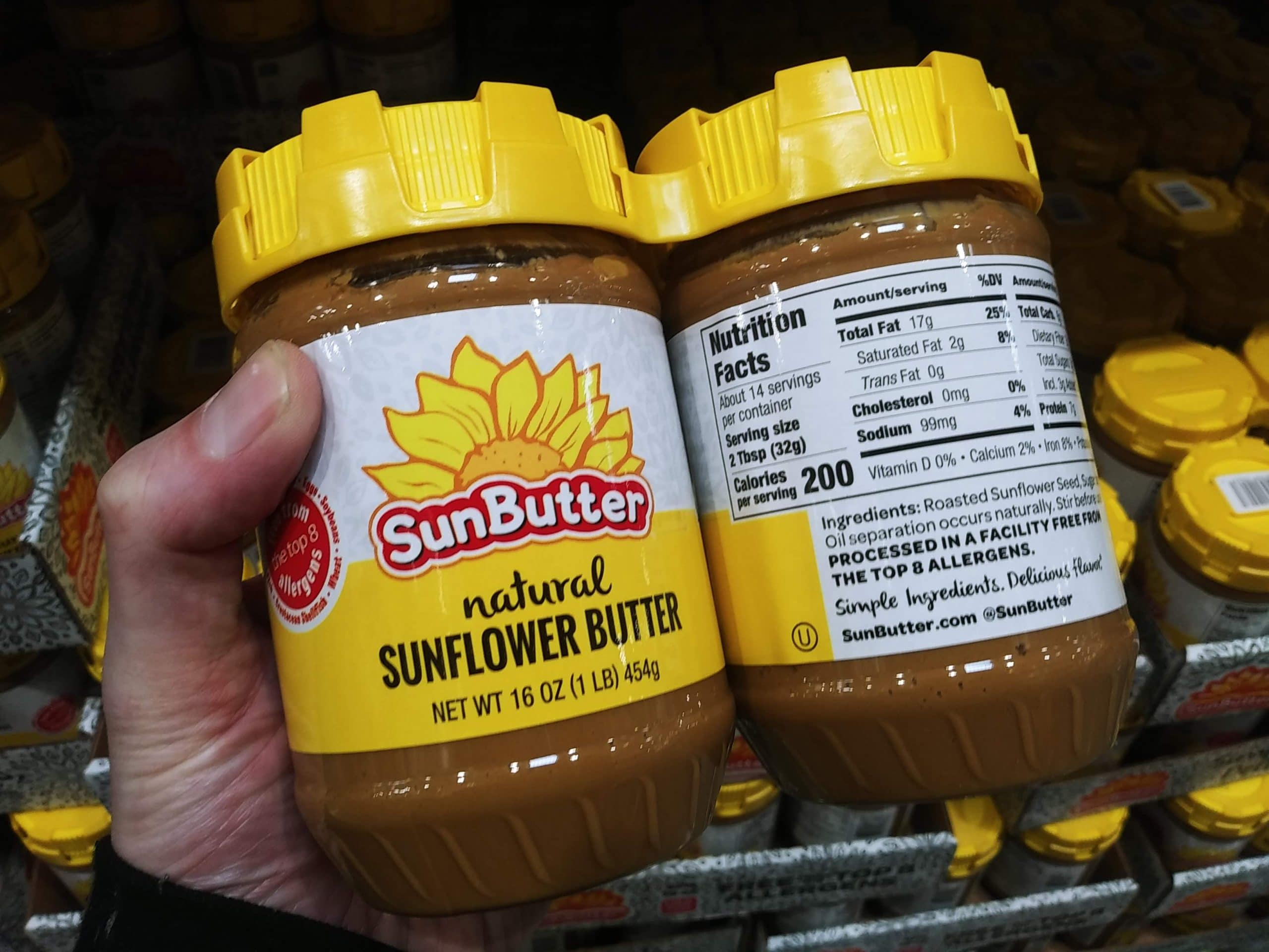 Sunbutter Sunflower Butter 2pk $8.59