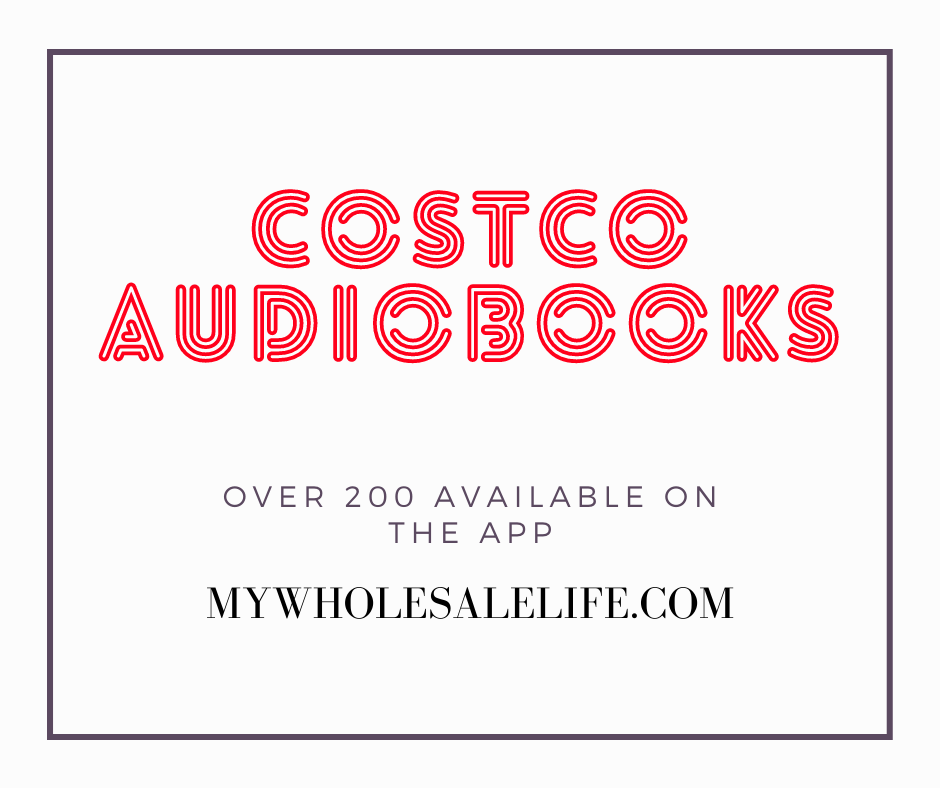 Did You Know Costco Has over 200 Audiobooks Online?