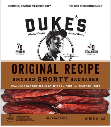 Dukes Smoked Shorty Sausages $9.99
