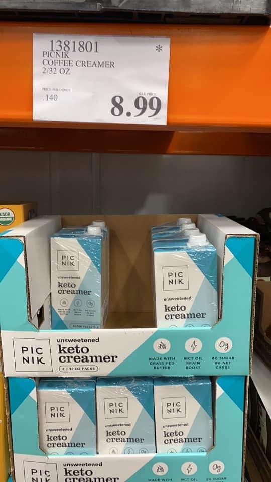 Picnik Keto Coffee Creamer $8.99