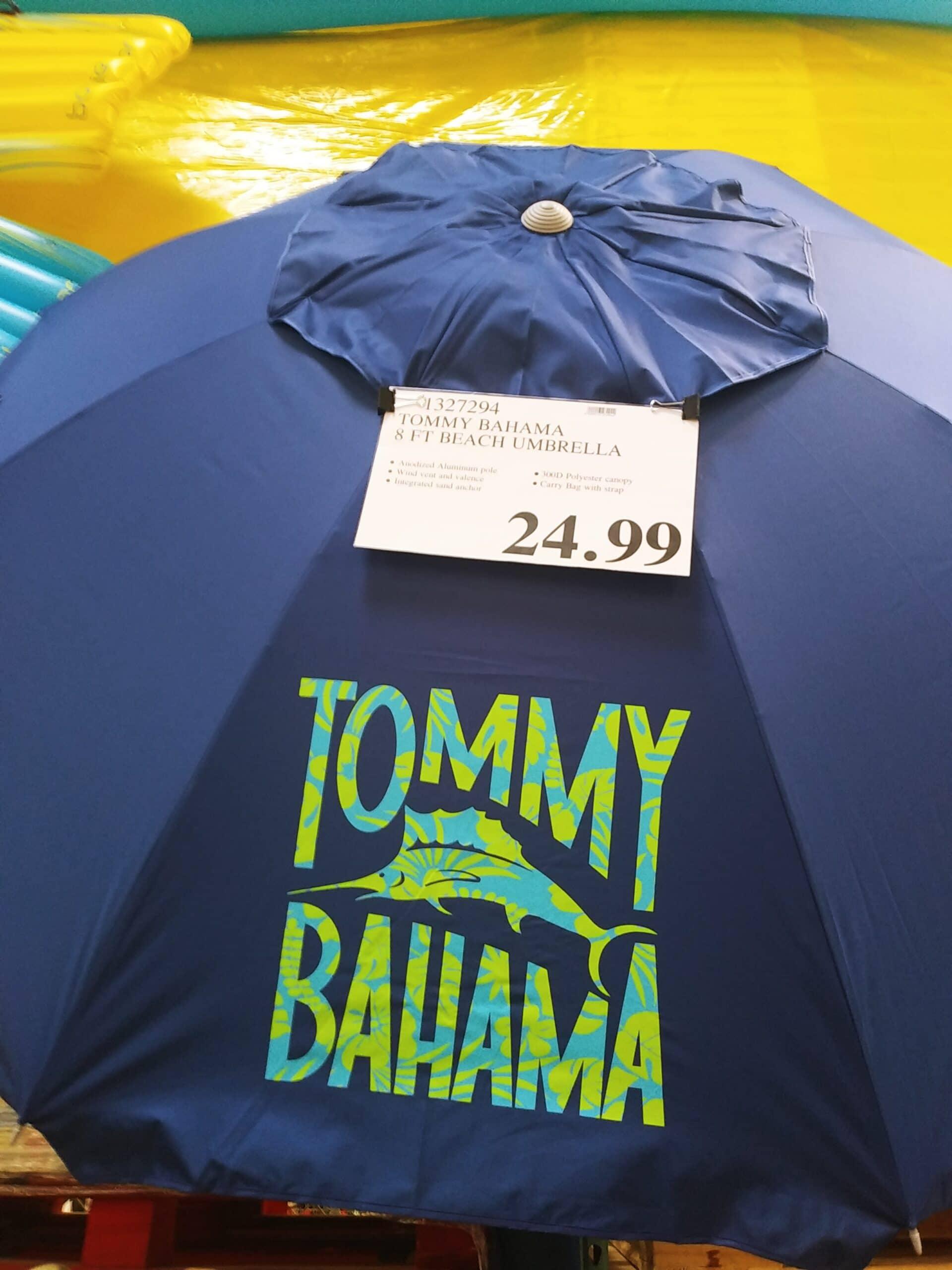 Tommy Bahama 8ft Beach Umbrella $24.99