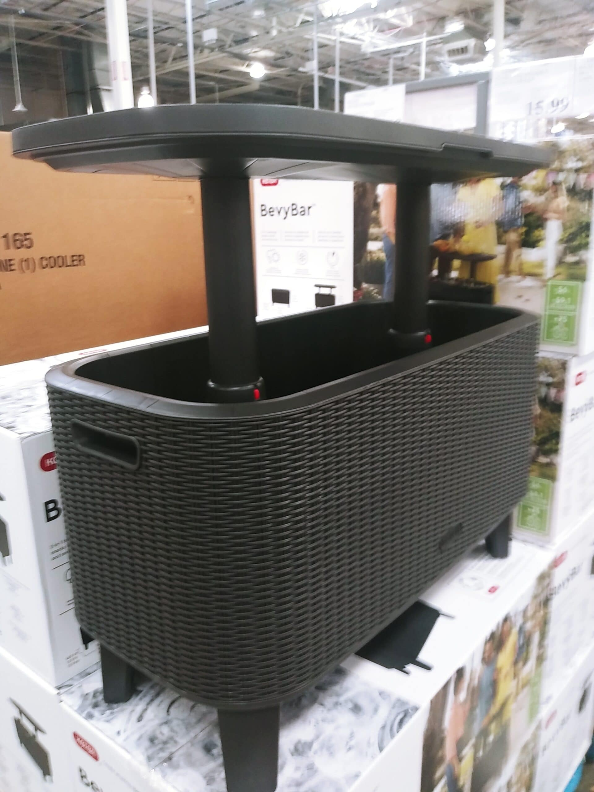 Keter Bevy Bar Table and Cooler Combo $99.99