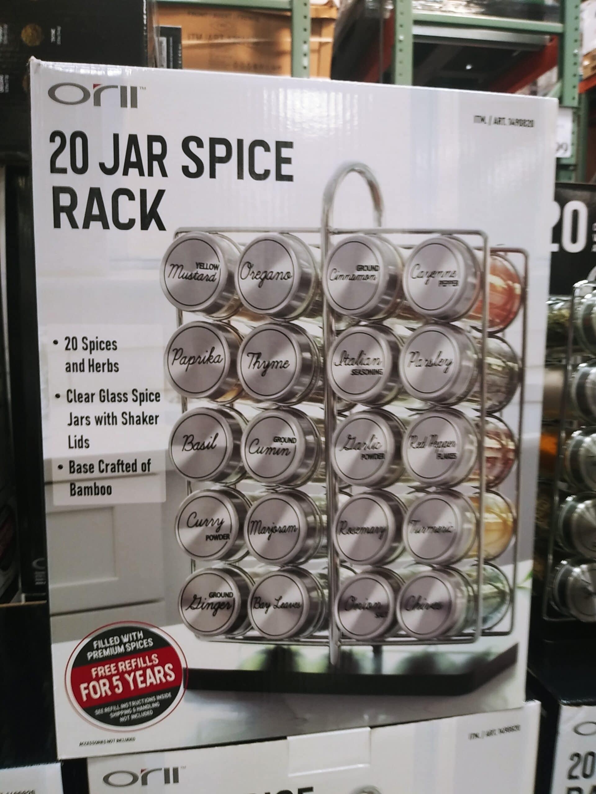 Orii 20 Jar Spice Rack $29.99