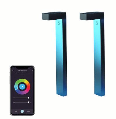 Atomi Smart WiFi LED Pathway Lights 2pk $79.99