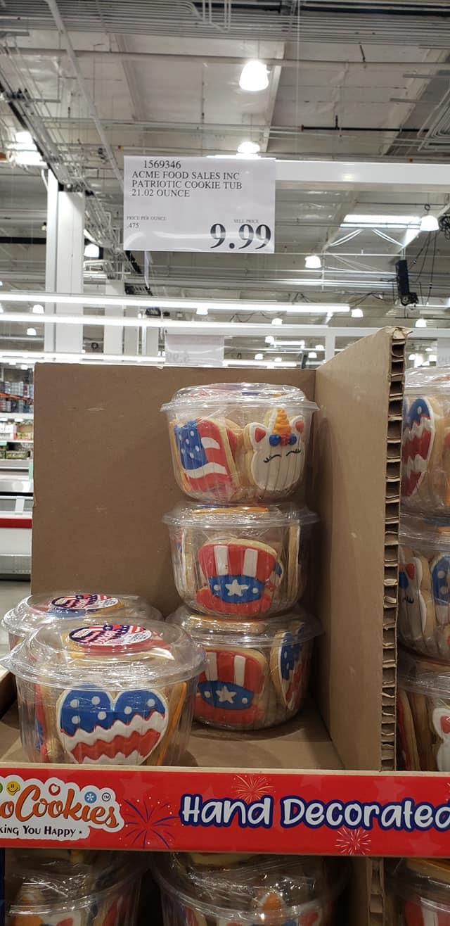 Acme Food Patriotic Cookie Tub $9.99