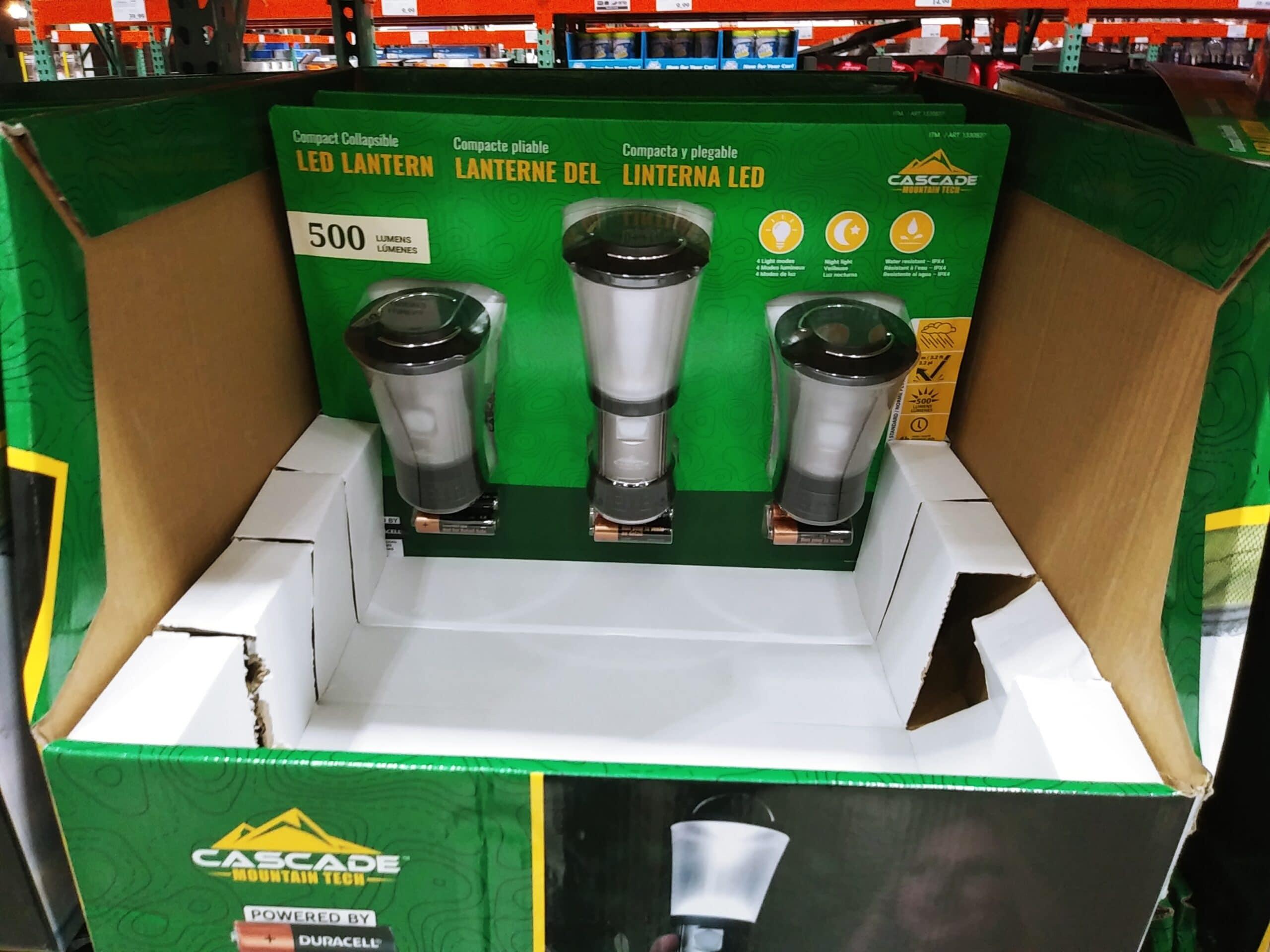 Cascade LED Mini Lanterns 3pk $12.99