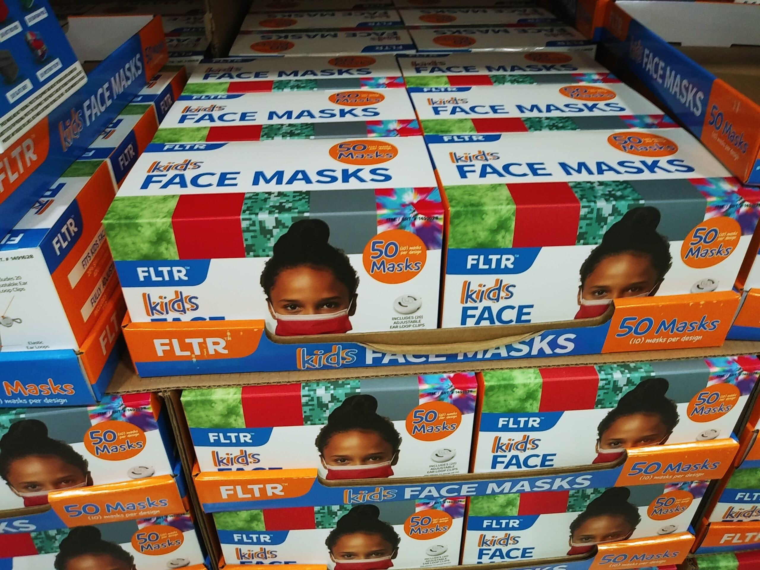 FLTR Kids Face Masks 50ct $6.99