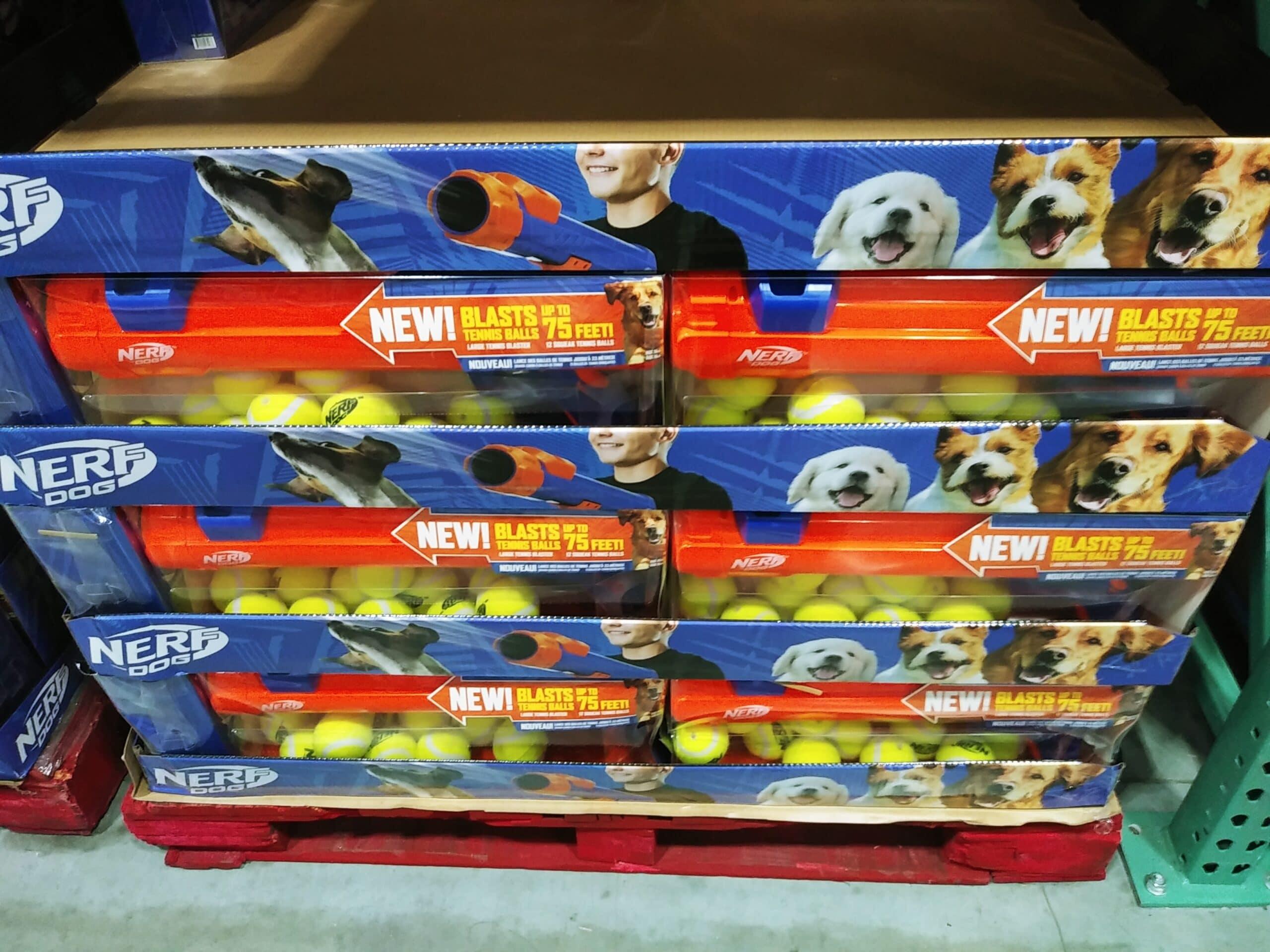 Nerf Elite Dog Ball Launcher and 12 Balls $18.99