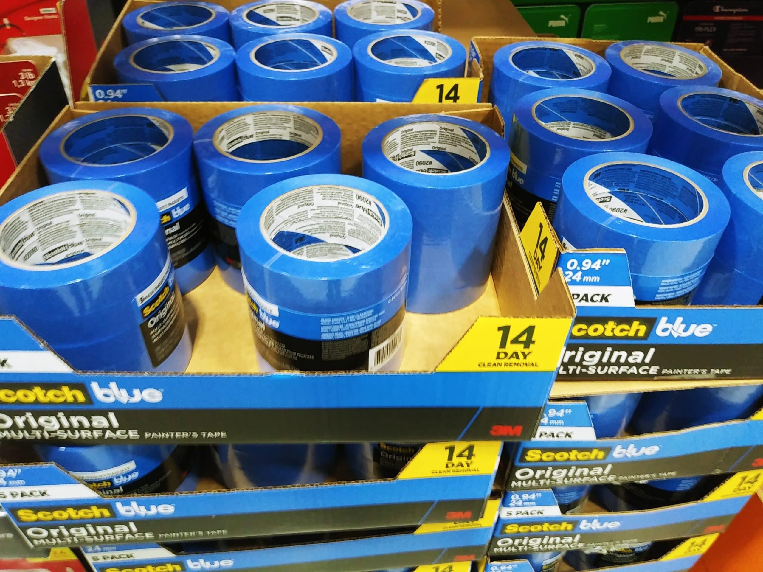 Scotch Blue Tape 5pk $6.97