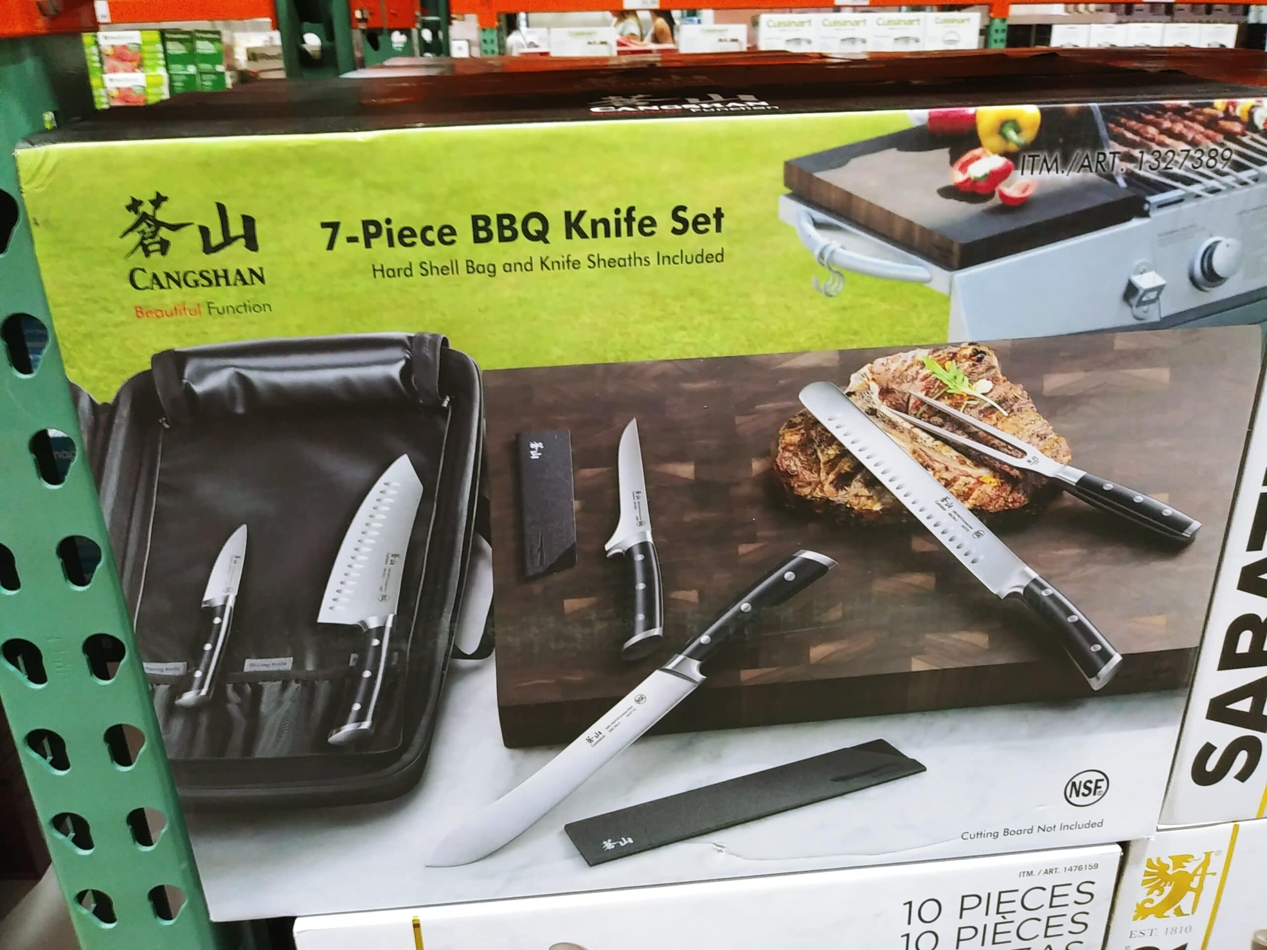 Cangshan BBQ Knife Set 7pc $79.99