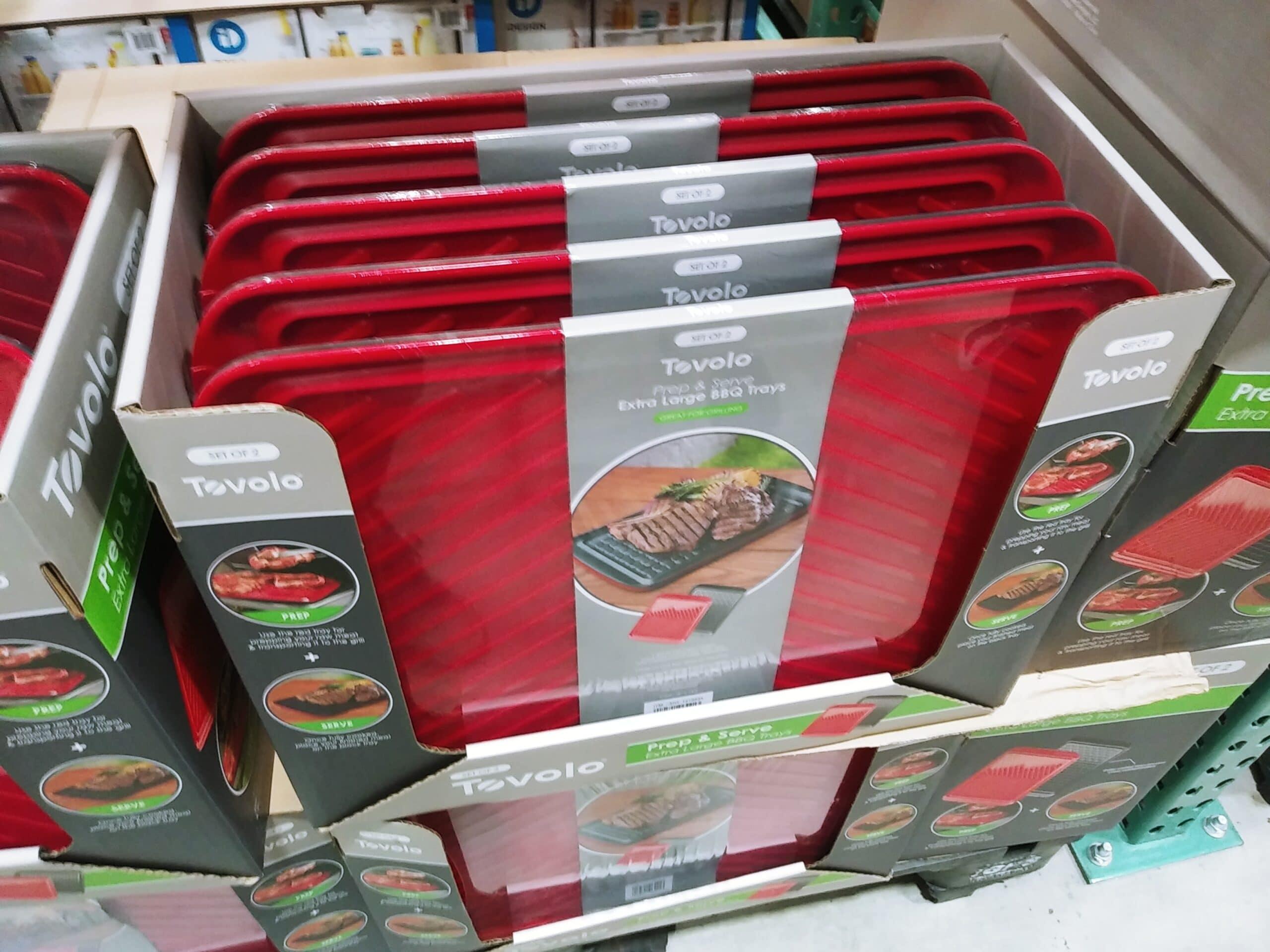 Tevolo Prep and Serve BBQ Trays $8.48 Each