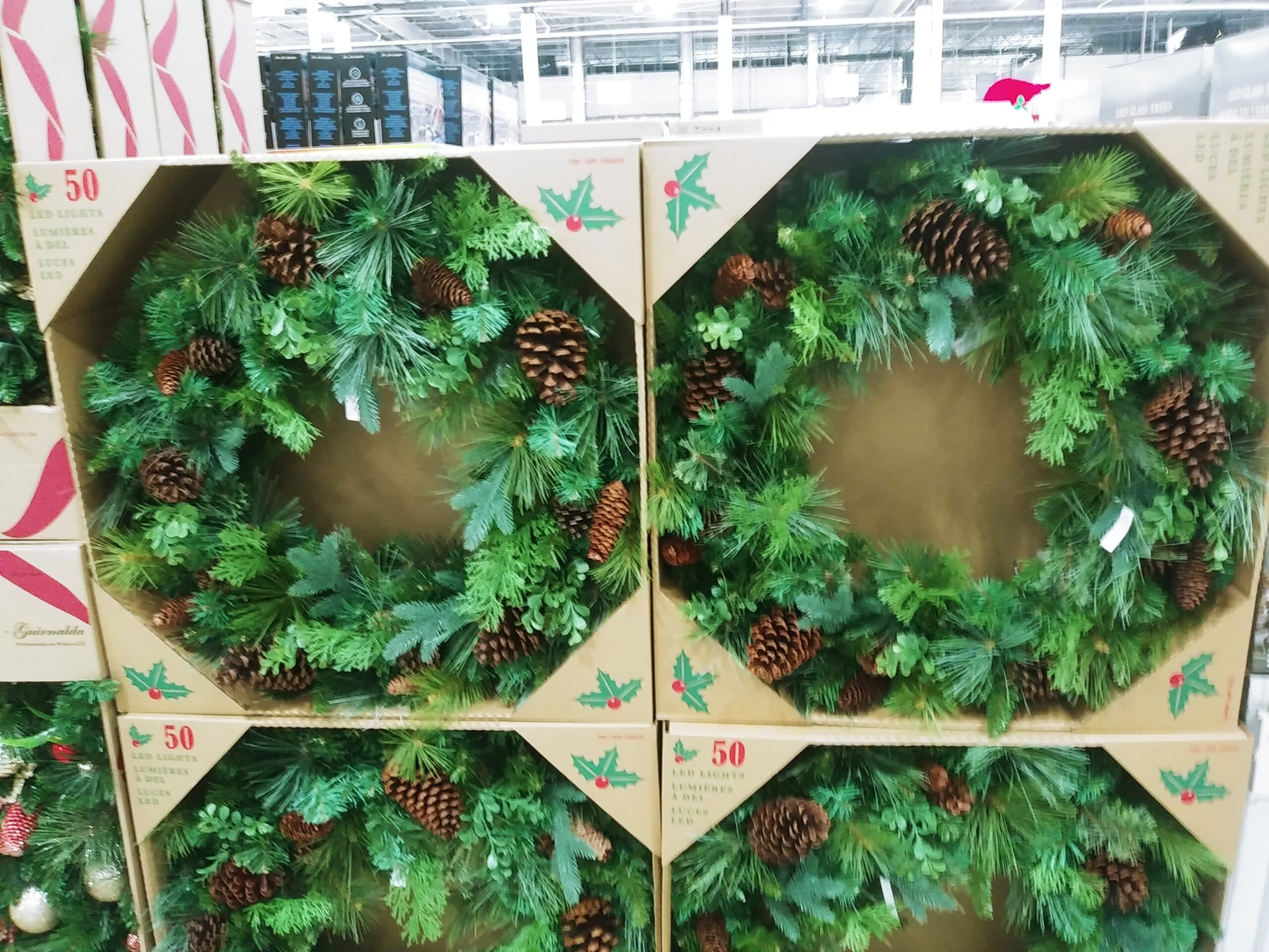 32 Inch Greenery Wreath $44.99