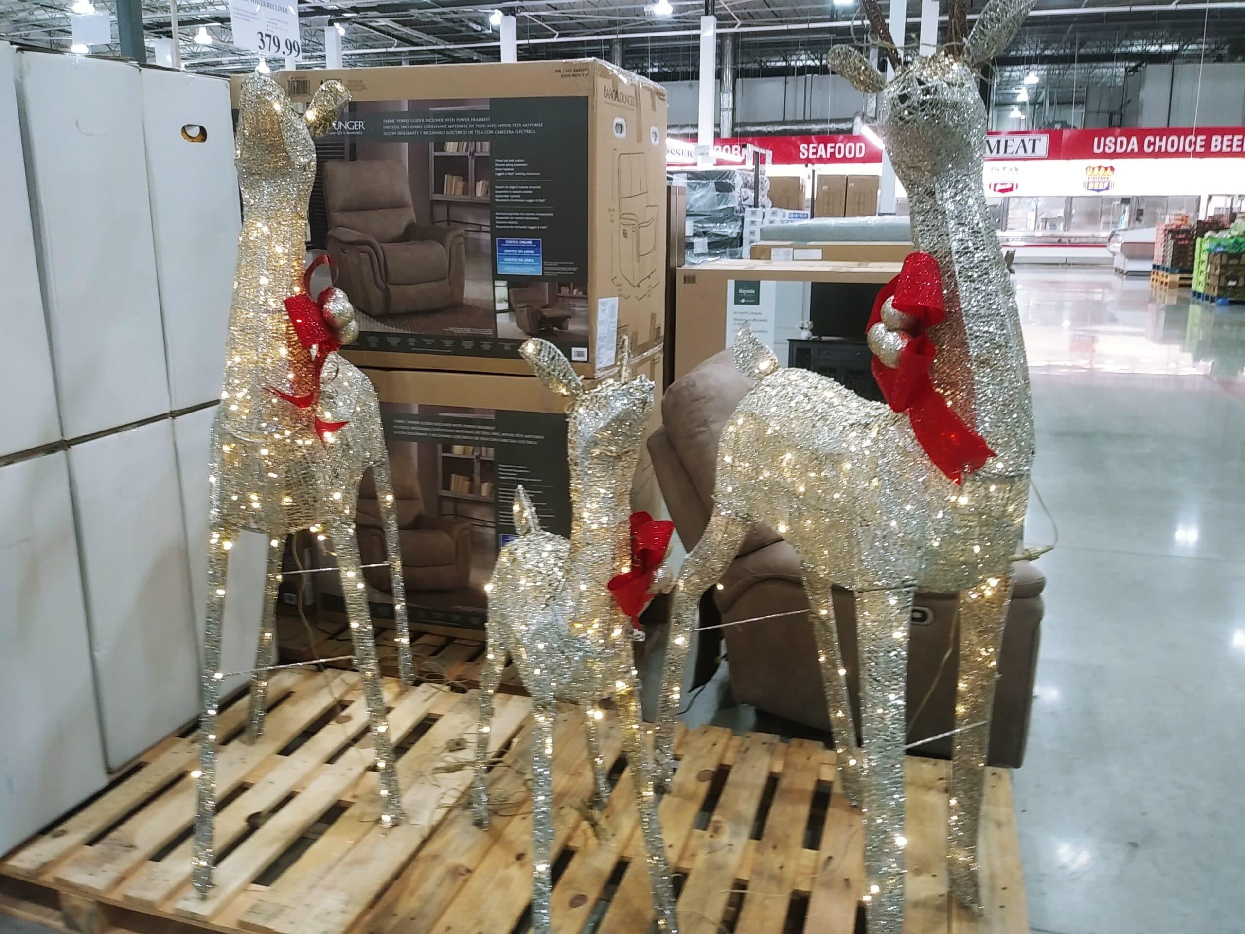 3 Lighted Deer Family $169.99