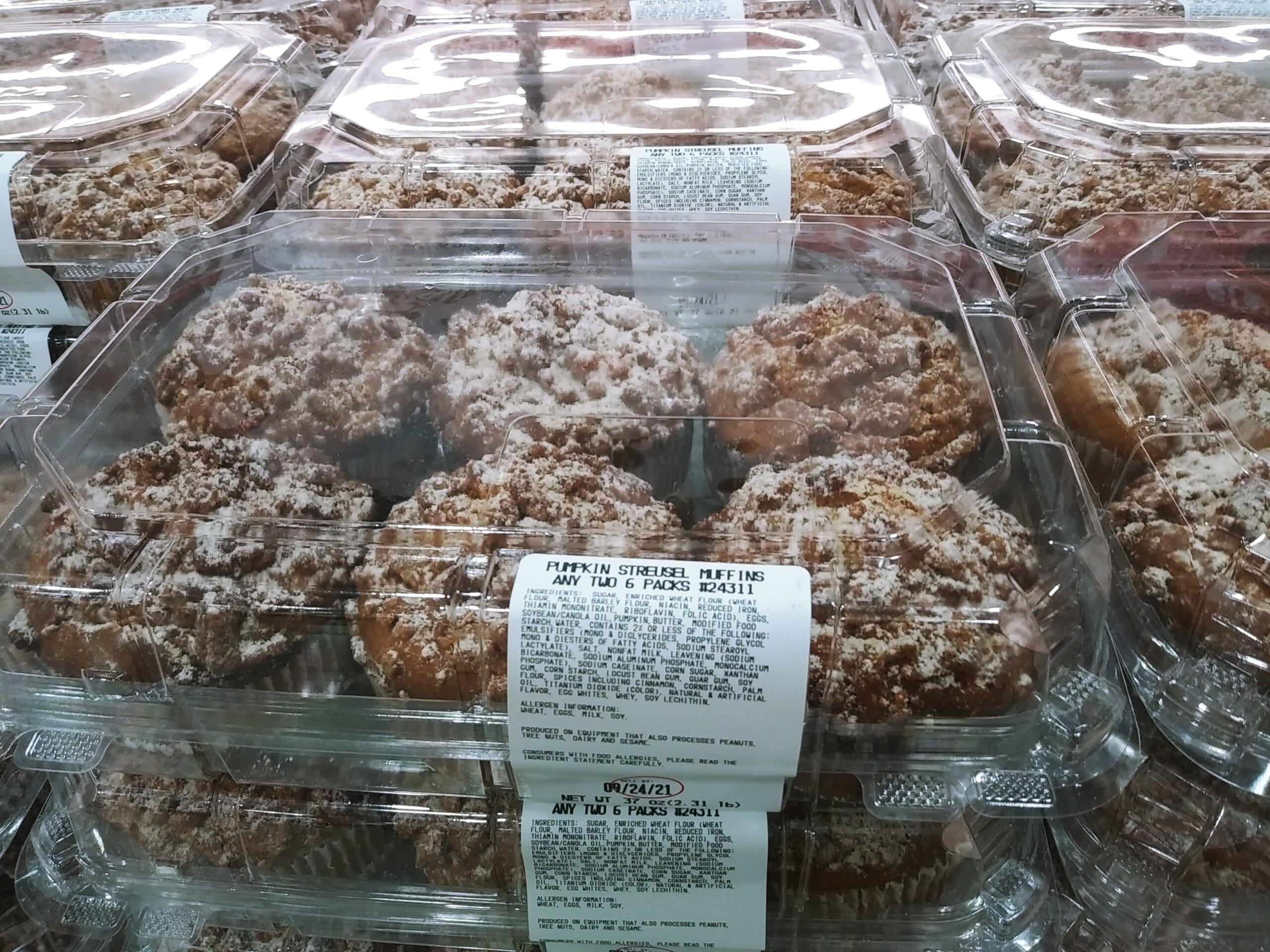 Pumpkin Streusel Muffins $7.99