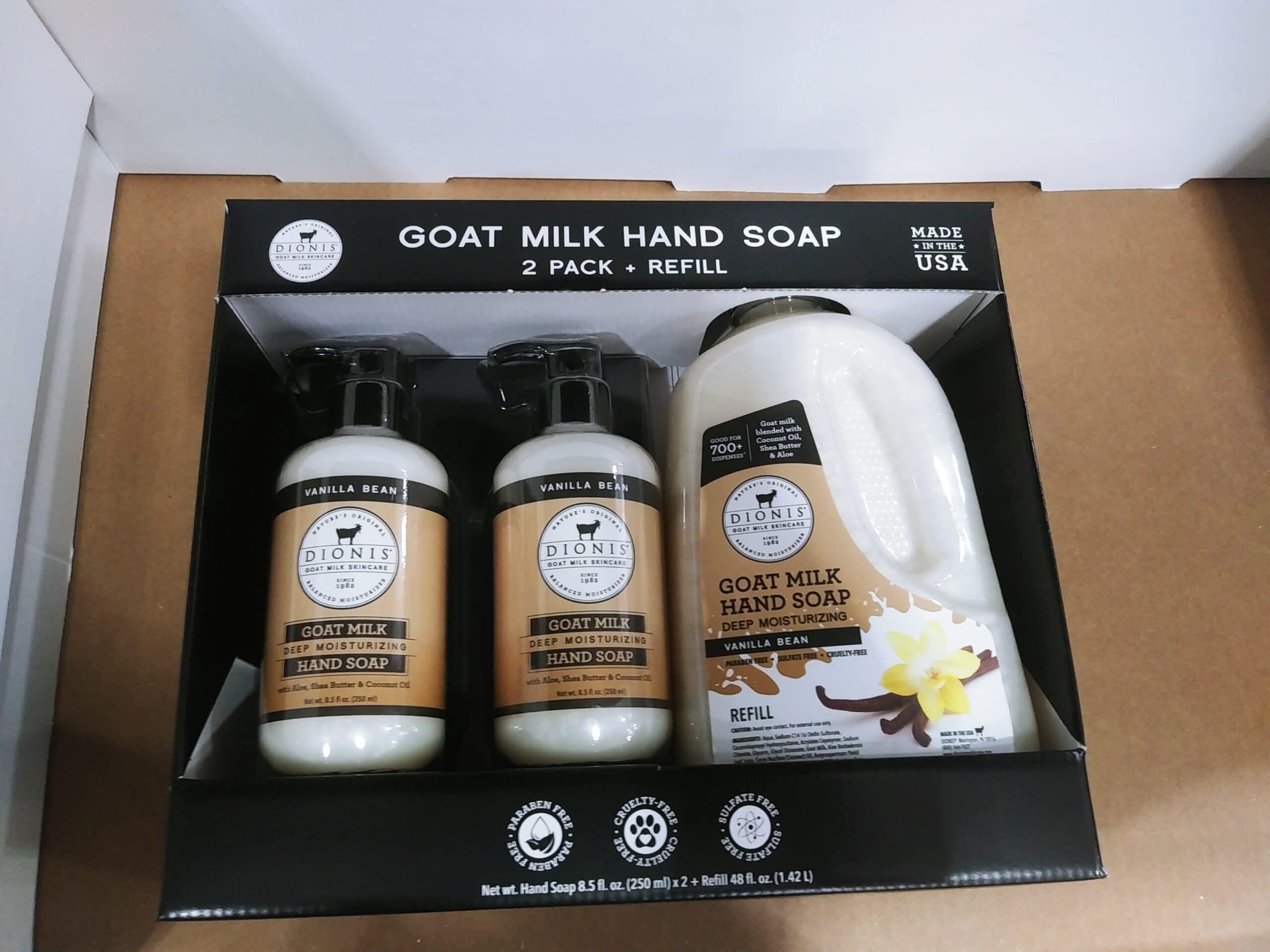 Dionis Vanilla Bean Hand Soap 3pk $16.99