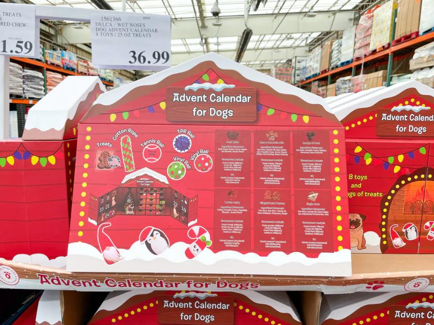 Dogs Advent Calendar $36.99