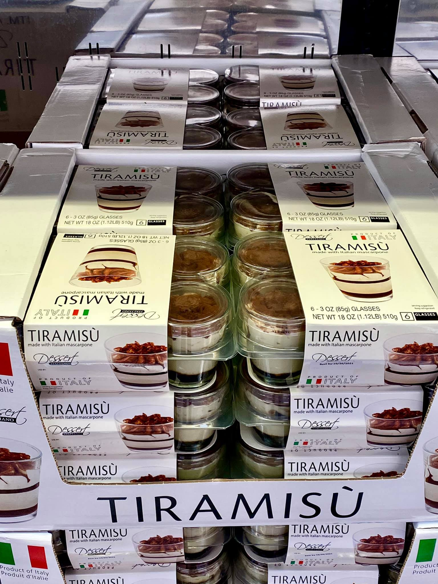 Fan Favorite Tiramisu Cups $6.99